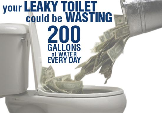 Leaky Toilets